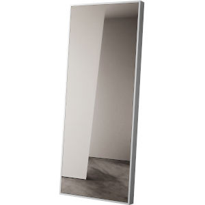 Greene Glossy White Mirror