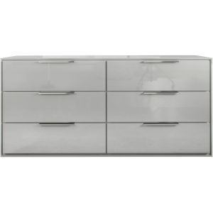 Thompson Glossy White Dresser