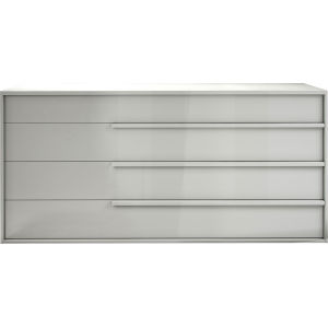 Jane Glossy White Dresser