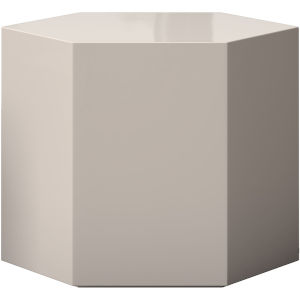 Centre Glossy Chateau Gray 14-Inch Coffee Table