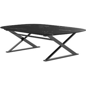 Irving Black Marble Coffee Table