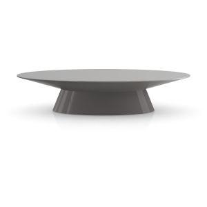 Sullivan Glossy Dark Gull Gray Coffee Table