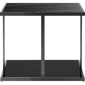 Ann Black Marble Side Table