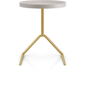Shubert Chateau Gray Side Table