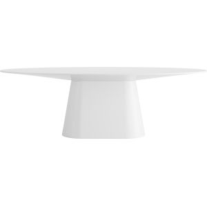 Sullivan Glossy White 95-Inch Dining Table