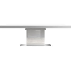 Astor Glossy White 71-Inch Dining Table