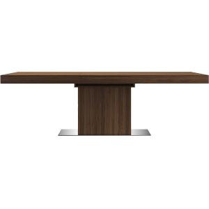 Astor Walnut 71-Inch Dining Table