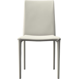 Varick Eggshell Eco Leather Dining Chair