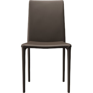 Varick Cocoa Eco Leather Dining Chair