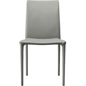 Varick Mineral Gray Eco Leather Dining Chair
