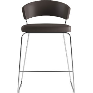 Delancey Java Eco Leather 36-Inch Counter Stool