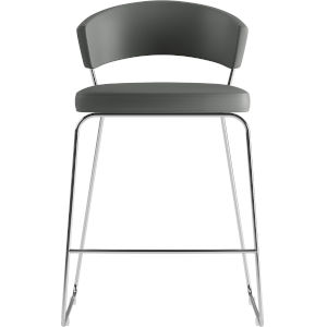 Delancey Deep Space Eco Leather 36-Inch Counter Stool