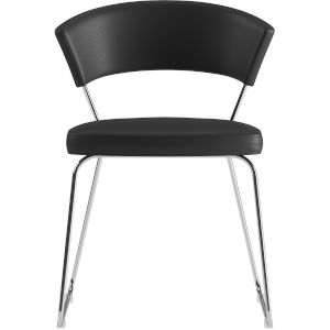 Delancey Black Eco Leather Dining Chair