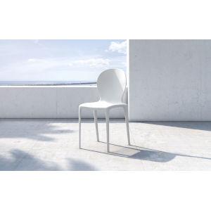 Vieste Chalk White Dining Chair