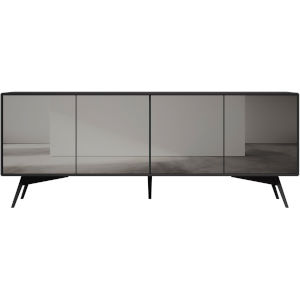 Christopher Dark Gull Gray Sideboard