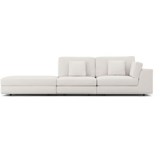 Perry Chalk Fabric Sectional Sofa