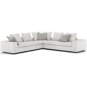 Lucerne Ashen Corner Sectional