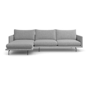 Houston Stargazer Gray Left Sectional