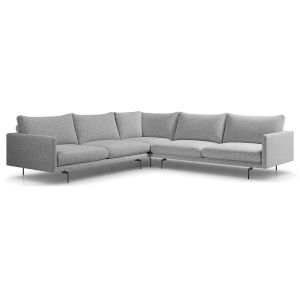 Houston Stargazer Gray Corner Sectional