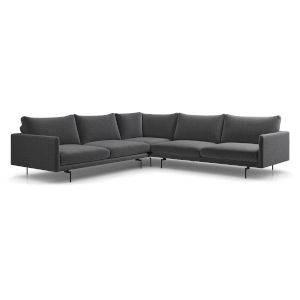 Houston Orion Gray Corner Sectional