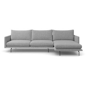 Houston Stargazer Gray Right Sectional