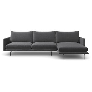 Houston Orion Gray Right Sectional