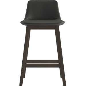 Mercer Graphite Eco Leather 33-Inch Counter Stool