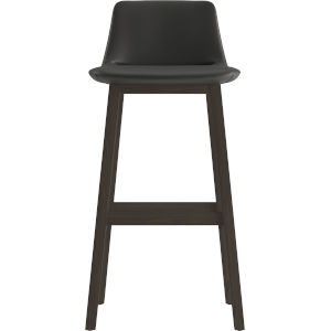 Mercer Graphite Eco Leather 41-Inch Barstool