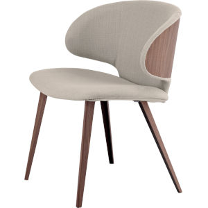 Harper Oxford Tan Fabric Dining Chair