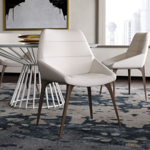 Rutgers White Sand Fabric Dining Chair