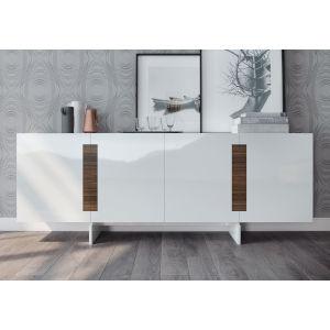 Brixton Glossy White Sideboard