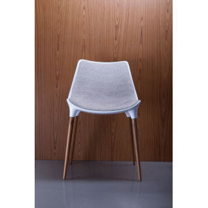 Langham Oatmeal Fabric Dining Chair