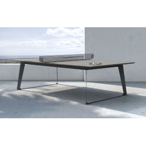 Amsterdam Gray Concrete Outdoor Ping Pong Table
