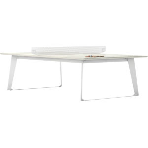 Amsterdam White Sand Concrete Ping Pong Table