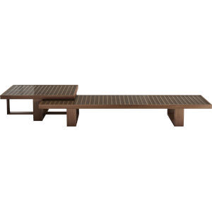 Leyton Walnut 96-Inch Coffee Table