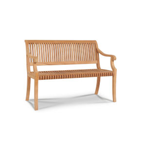 Palm Nature Sand Teak Two-Personteak Outdoor Bench