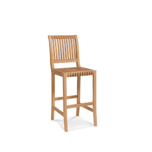 Palm Nature Sand Teak Teak Outdoor Bar Chair