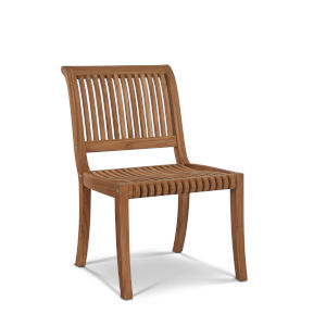 Palm Nature Sand Teak Teak Outdoor Side Chair