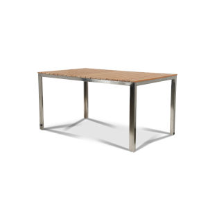 Al Fresco Nature Sand Teak Rectangular Outdoor Dining Table