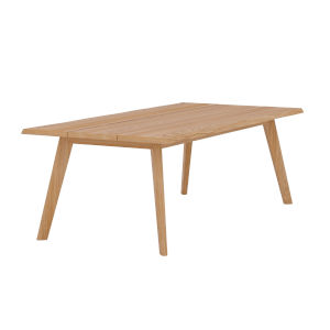 La Costa Natural Sand Teak  Outdoor Dining Table
