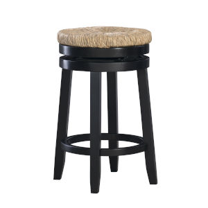 Maya Black Counter Stool