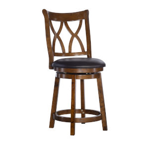 Carmen Rustic Oak Counter Stool