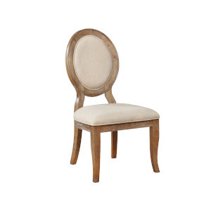 Lenoir Wire-Brushed Side Chair, Set of 2