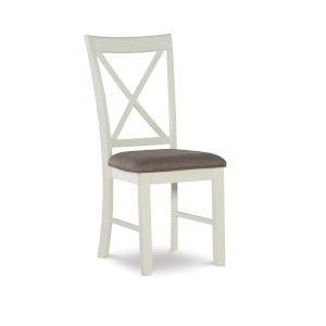 Jane Vanilla White Side Chair, Set of 2