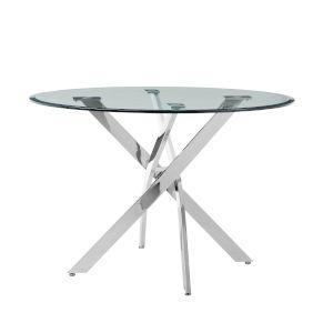 Putnam Chrome Dining Table