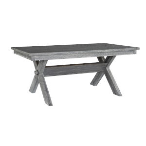 Turino Grey Oak Stain Dining Table