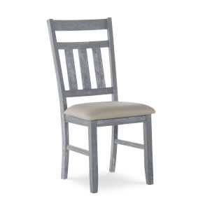 Turino Grey Oak Stain Side Chair, Set of 2