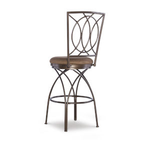 Olivia Bronze and Mocha Barstool