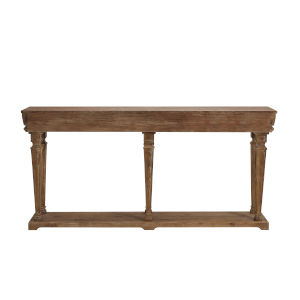 Benjamin Weathered Driftwood Console Table