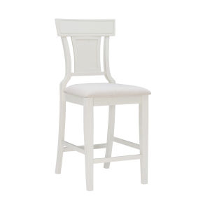 Rylan Whitewash Counter Stool